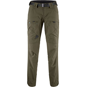 Klättermusen W's Gere 2.0 Regular Pants Dark Green